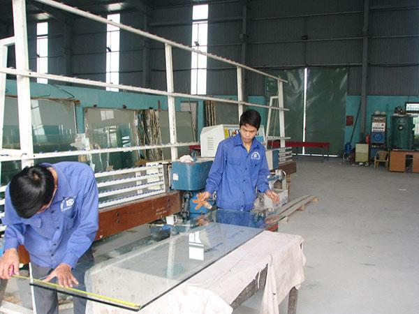 xưởng nhôm kính hải phòng