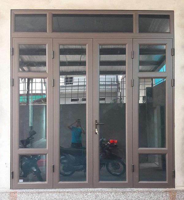 cửa nhôm việt pháp hải phòng