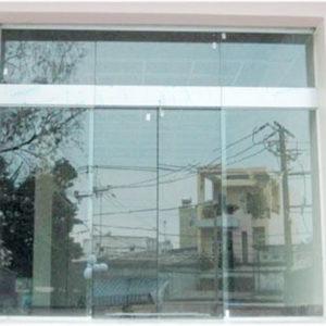 cửa kính trượt bán tự động