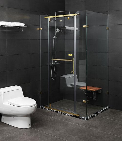phòng tắm kính fendi FDG – 2X4