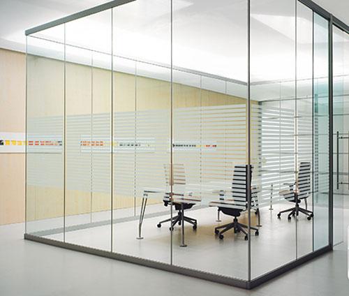 vách kính văn phòng vp04