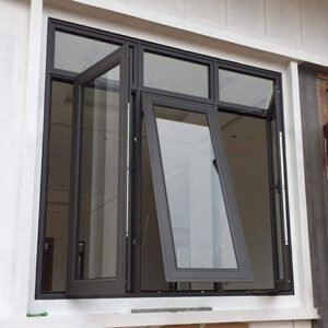 Cửa sổ mở hất nhôm Việt Pháp