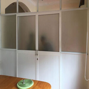 lắp cửa nhôm kính tại đồ sơn