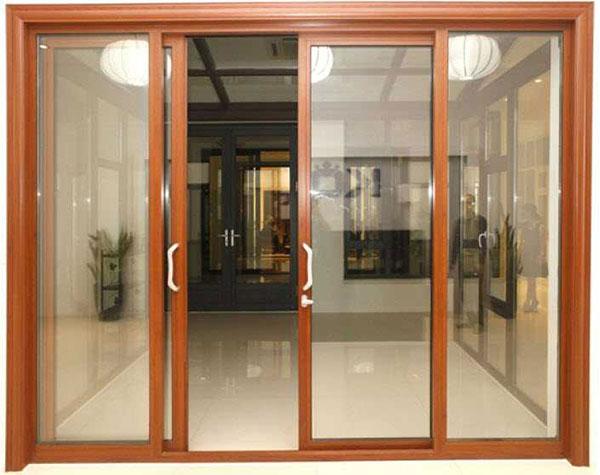cửa trượt ngang nhôm kính tại hải phòng