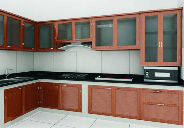 tủ bếp kính đẹp hải phòng