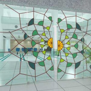 cửa kính hoa văn hải phòng