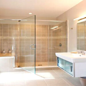 lắp đặt vách kính phòng tắm